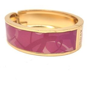 Avon Pink Hope Breast Cancer Hinge Bangle Bracelet